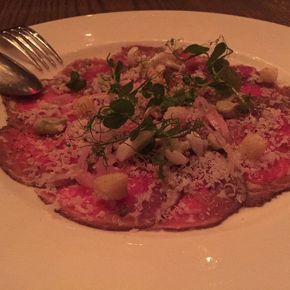 Painted Hills Sirloin Beef Carpaccio - Mooo, Boston, MA