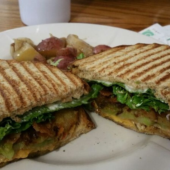 Fried Green Tomato Blt With Pimento Cheese. - Market at Main, Lynchburg, VA