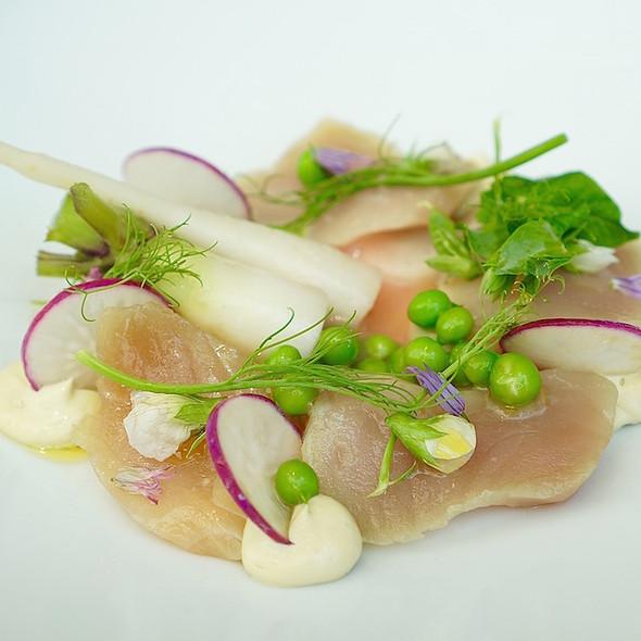 Albacore Tuna Crudo - Buca Yorkville, Toronto, ON