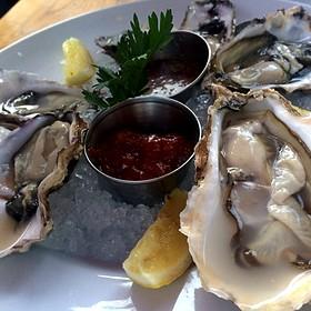 Oysters - Areal Restaurant, Santa Monica, CA