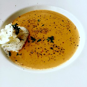 Lobster Bisque - Thistle Lodge Restaurant, Sanibel, FL