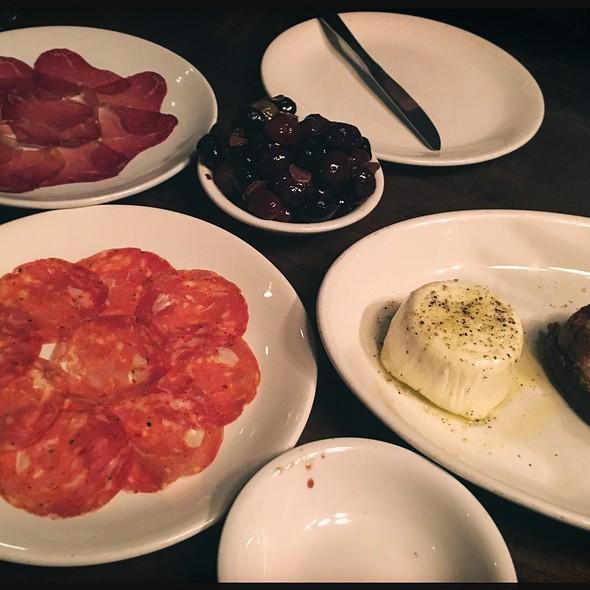 Burrata, Olives & Cured Meats - Osteria Marco, Denver, CO