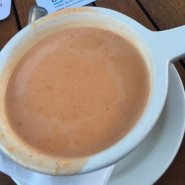 Lobster Bisque - Belmont Brewing Company, Long Beach, CA