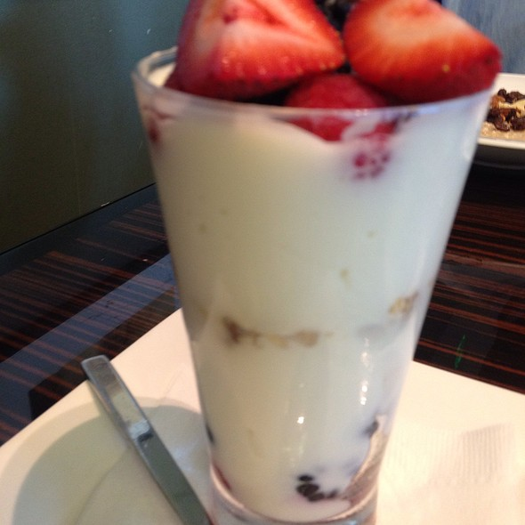 yogurt parfait - Sauciety, Boston, MA