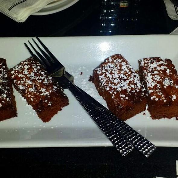 warm chocolate brownies - 48 Lounge, New York, NY