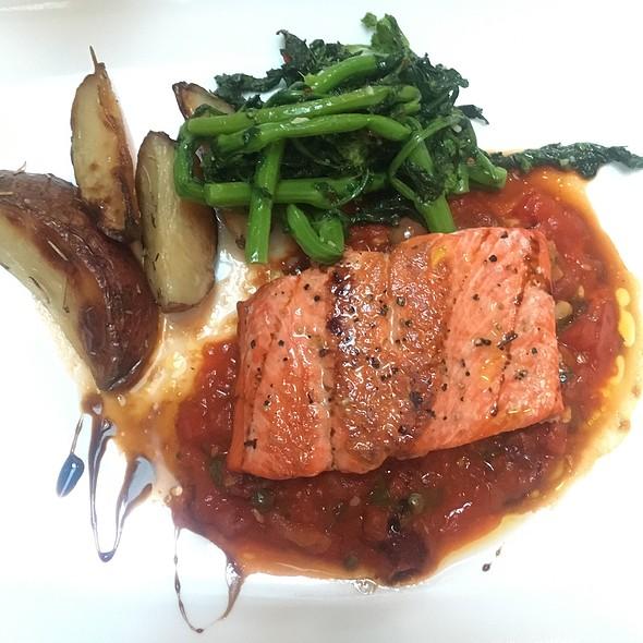 Salmon Puttanesca - Nunzio Ristorante Rustico, Collingswood, NJ