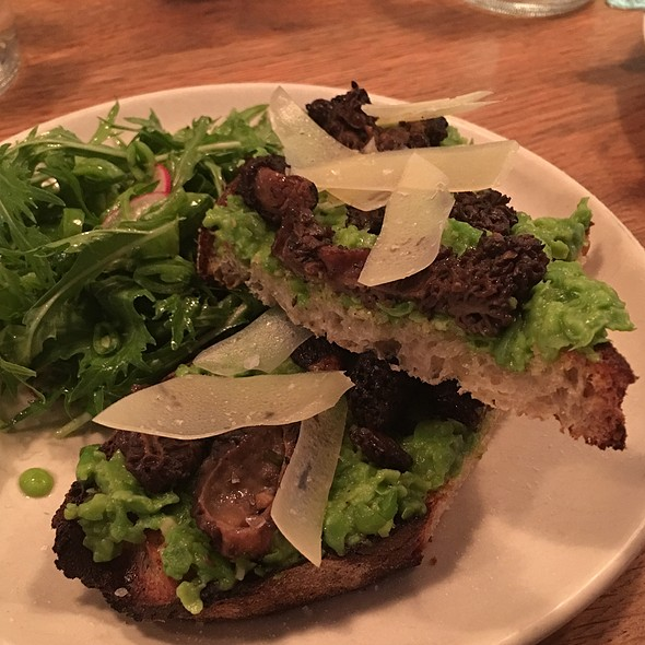 Morel & Avocado Toast - Contigo, San Francisco, CA