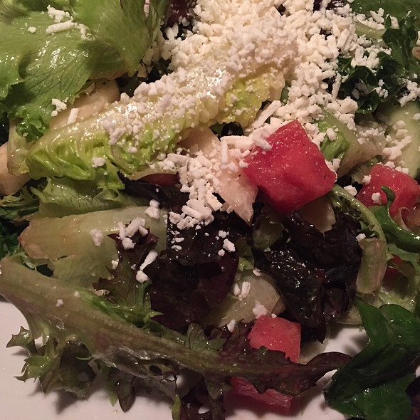 Watermelon Jicama Salad - Zolo Grill, Boulder, CO