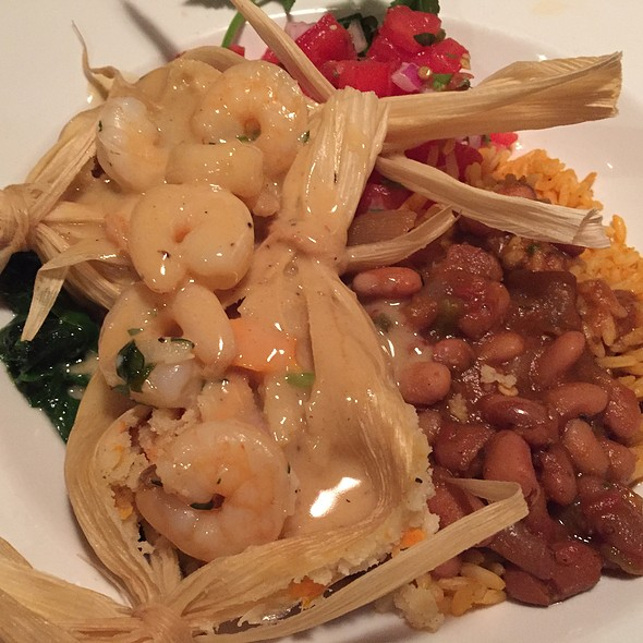 Shrimp And Sweet Potato Tamales - Zolo Grill, Boulder, CO