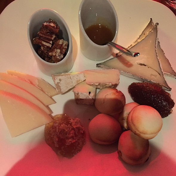 Cheese Plate - Gordon Ramsay Steak - Paris Las Vegas, Las Vegas, NV