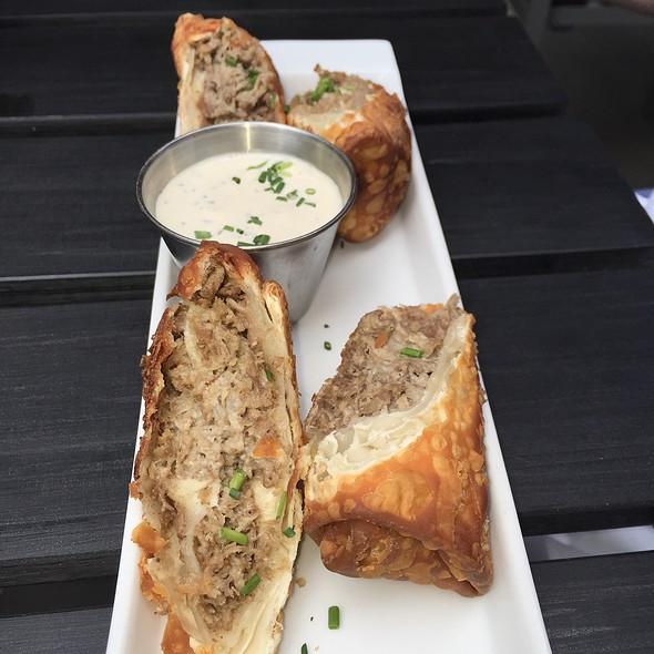 Steak And Cheese Eggeolls - Barlow's Restaurant, Boston, MA