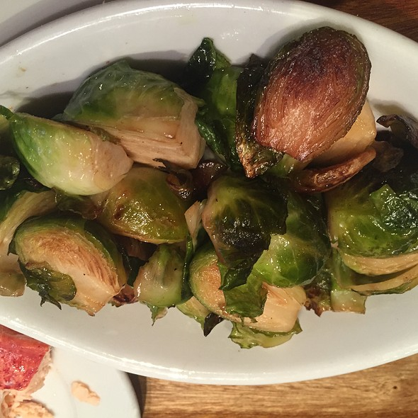 Roasted brussels sprouts - Atlantic Fish, Boston, MA