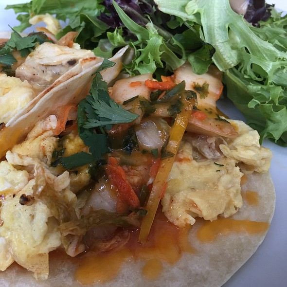 Breakfast Tacos - Front Porch Cafe, Miami Beach, FL
