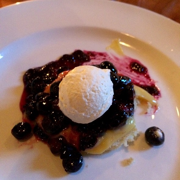 Blueberry Trifle - Guild Tavern, South Burlington, VT