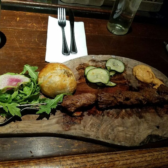 Beef Kabob - Café 21 – Gaslamp, San Diego, CA