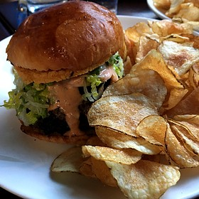 Burger - Alden and Harlow, Cambridge, MA