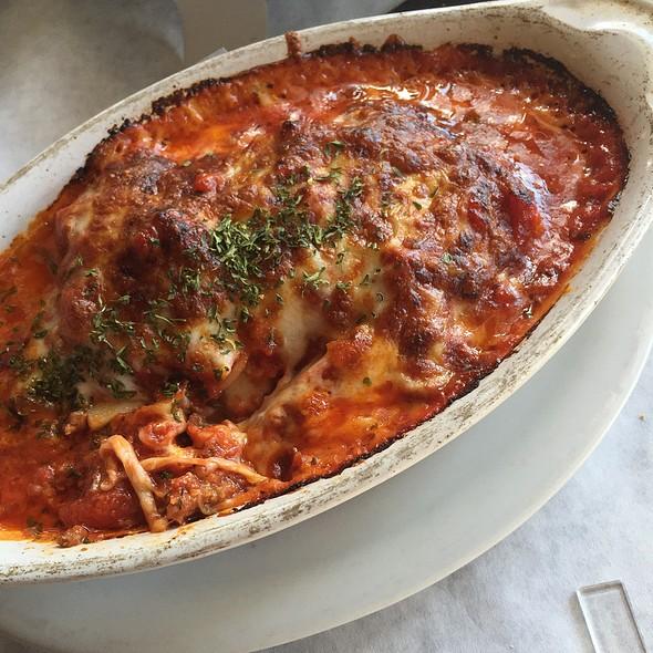 lasagna - Corleone's Trattoria, Savannah, GA