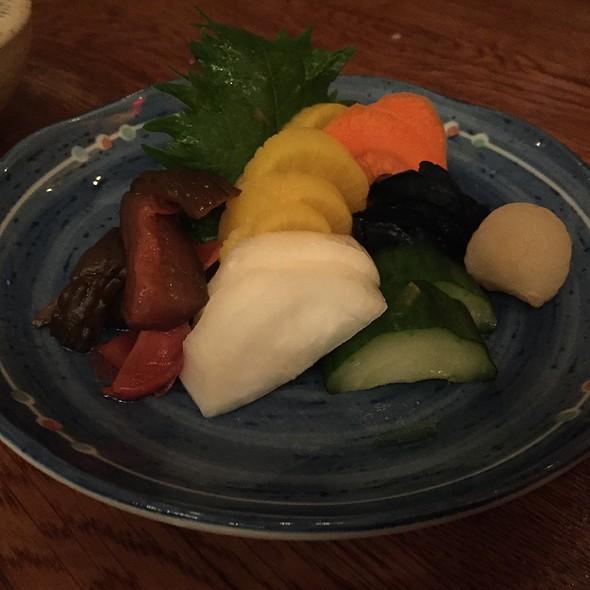 Pickles - Zuma Japanese Restaurant - Miami, Miami, FL