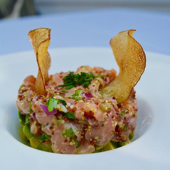 Salmon Tartare - Sonora Restaurant, Port Chester, NY