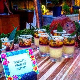 Pineapple Hibiscus Parfait's - Cielo Restaurant and Bar, St. Louis, MO
