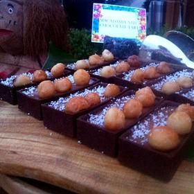 Macadamia Nut Chocolate Tort's - Cielo Restaurant and Bar, St. Louis, MO