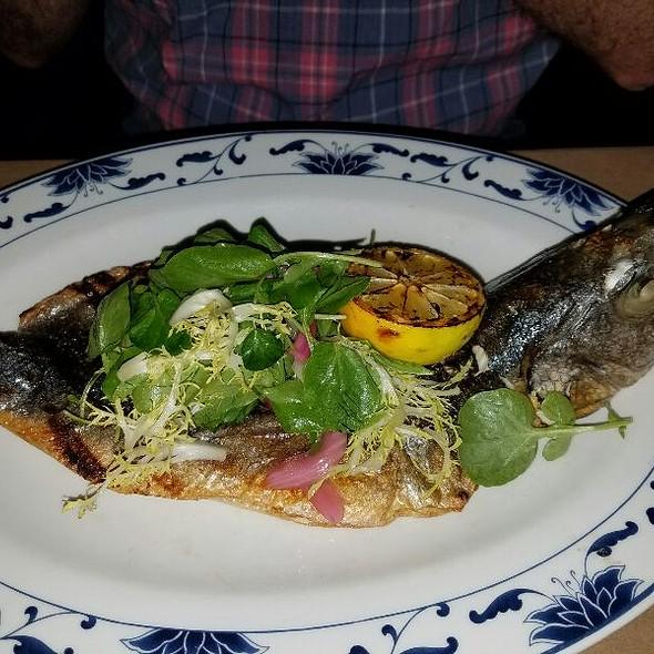 Whole fish - Saxon + Parole, New York, NY