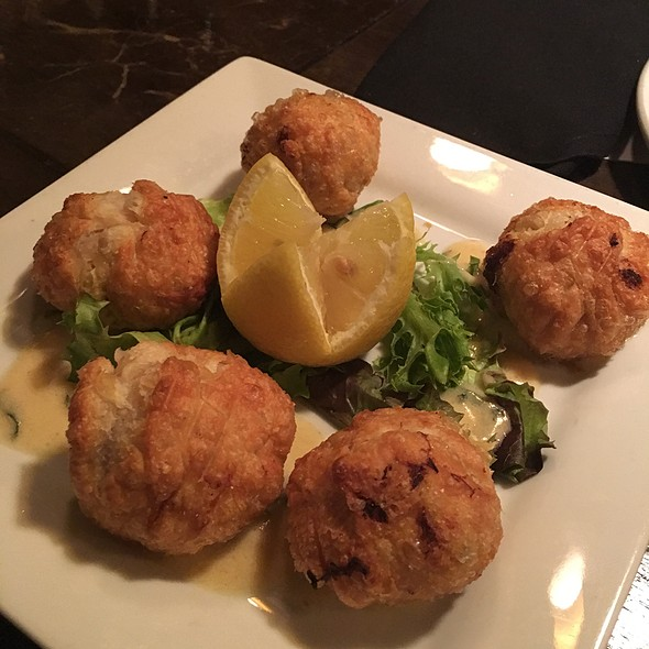 Crab Meat Beignets - The Bistro, Bowling Green, KY