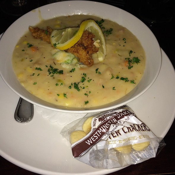 Our Chowderfest Award Winning Loaded Clam Chowder - Longfellows Restaurant & Hotel, Saratoga Springs, NY
