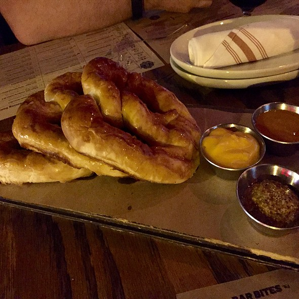 Soft Pretzels - Stout Barrel House and Galley, Chicago, IL