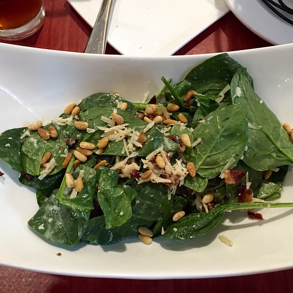 Spinach Salad - Del Ray Cafe, Alexandria, VA