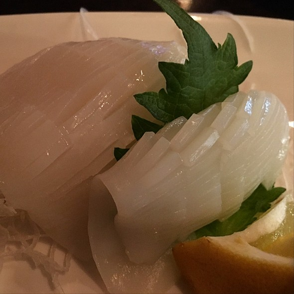 Ika Sashimi - Okura Robata Grill and Sushi Bar - La Quinta, La Quinta, CA