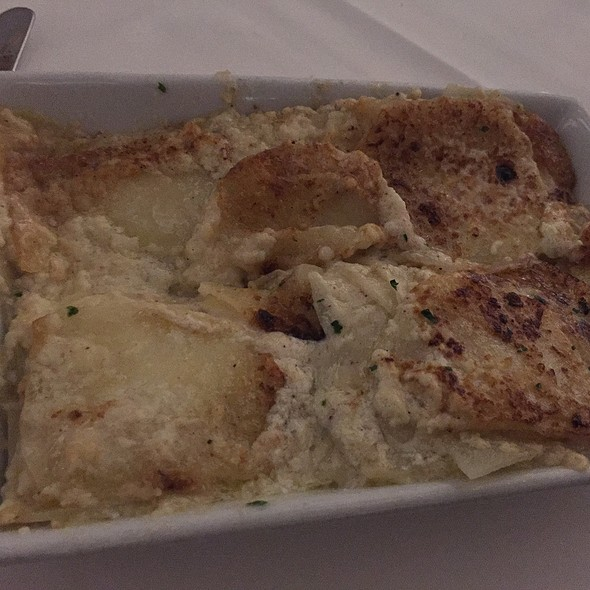 Scalloped Potatoes - Mastro's Ocean Club - Las Vegas, Las Vegas, NV