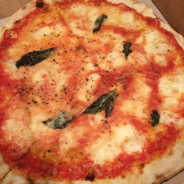 Margherita Pizza - Arte Cafe, New York, NY