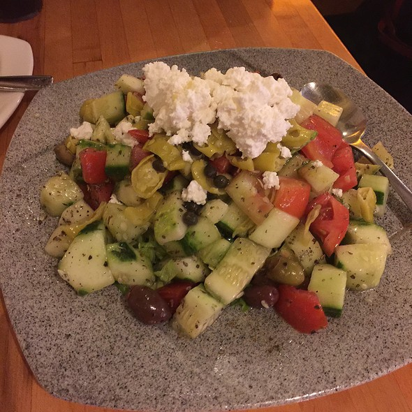 Greek Salad - Greek Taverna - Edgewater, Edgewater, NJ