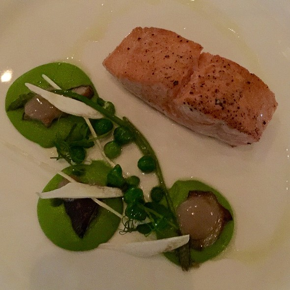 Salmon And Peas - Sorellina, Boston, MA