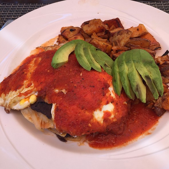 Huevos rancheros - The Palms, Los Gatos, CA