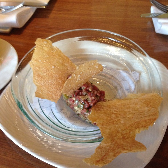 steak tartare - Fiola, Washington, DC