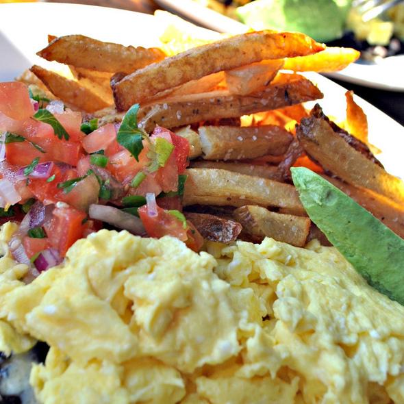 Huevos rancheros - Cafe Argentino, New York, NY