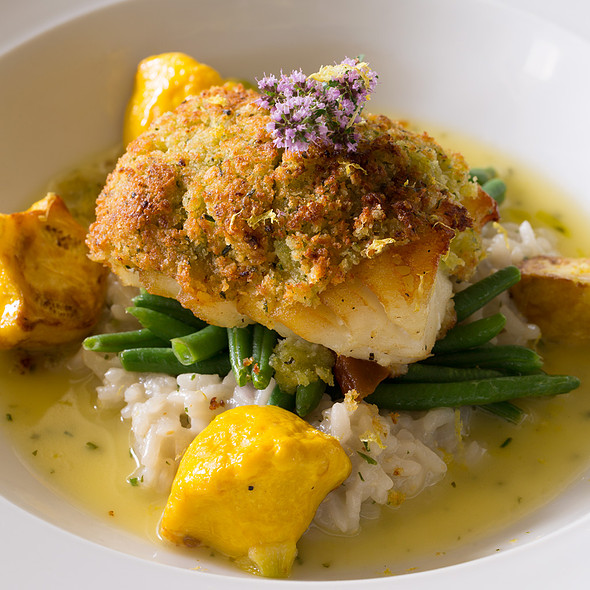 Citrus & Herb Crusted Barramundi - Glenmorgan Bar & Grill at the Radnor Hotel, St. Davids, PA
