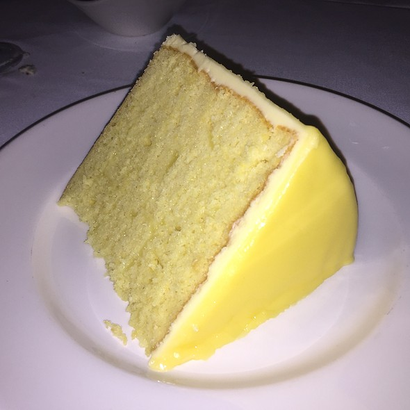 7-Layer Lemon Cake - Del Frisco's Double Eagle Steak House - New York City, New York, NY