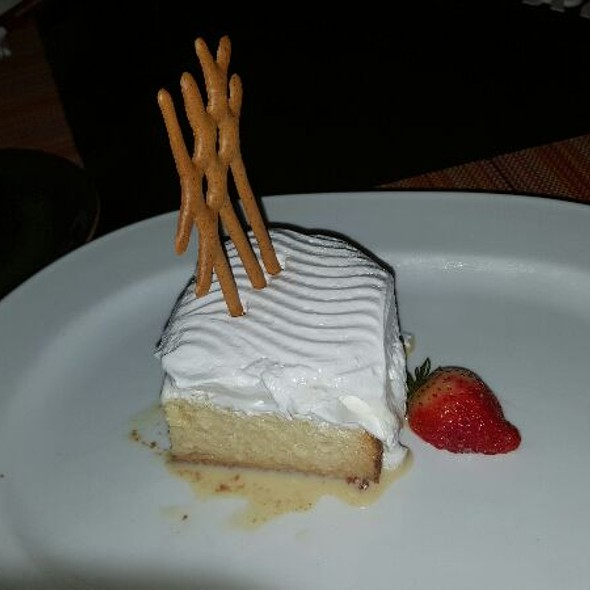 Tres Leches Cake - Churrascos - River Oaks, Houston, TX
