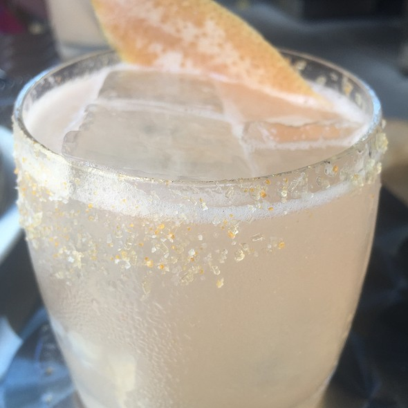 Salty Dog Cocktail With Vodka, Pamplemousse, Grapefruit, And Salt - North End Grill, New York, NY
