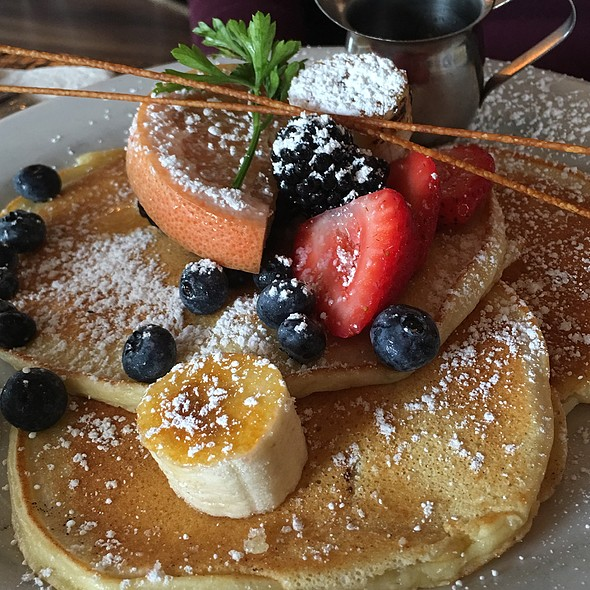 ricotta pancakes - Kitchen Story, San Francisco, CA