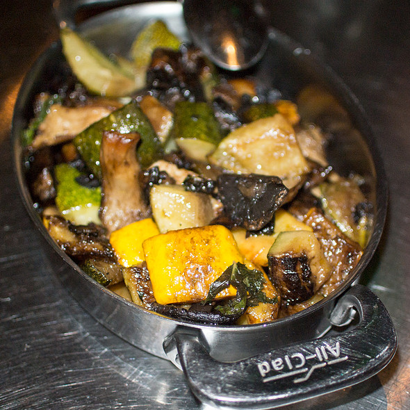 Forest Mushrooms & Roasted Squash - Ad Hoc, Yountville, CA