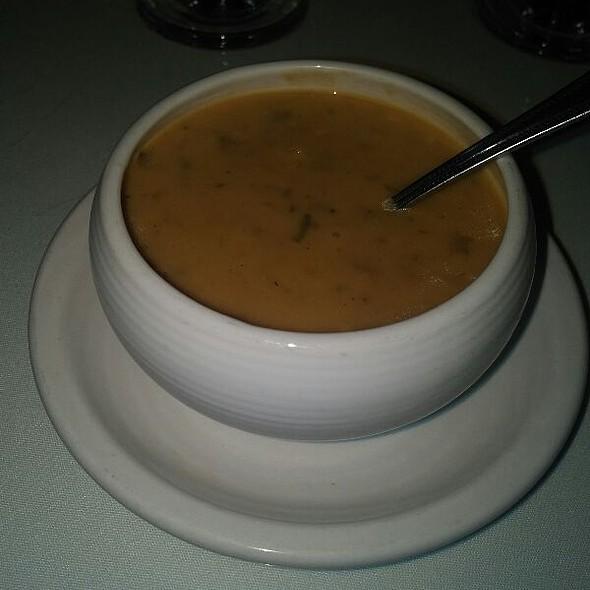 Mushroon Brie Soup - Sullivan's Metropolitan Grill, Anderson, SC