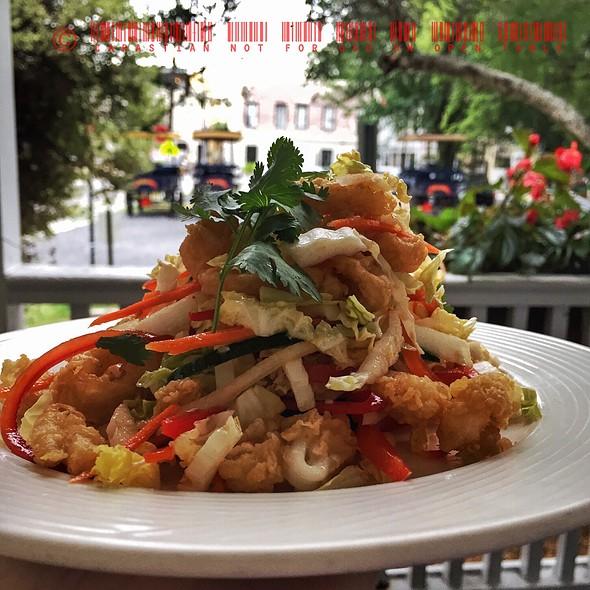 Fried Calamari - Cru Cafe, Charleston, SC