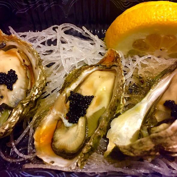 Kumamoto oysters - Atami Japanese Restaurant, New York, NY