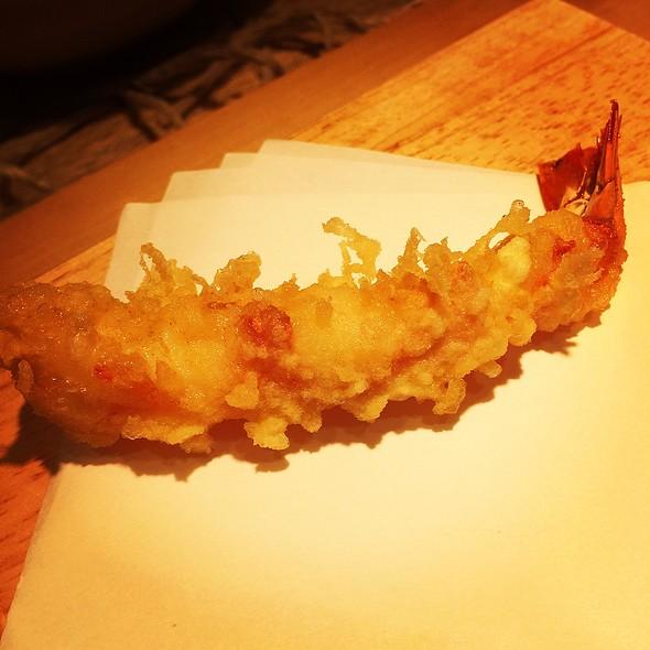Ebi Tempura 海老天ぷら - 銀座天ぷら よしたけ, 中央区, 東京都