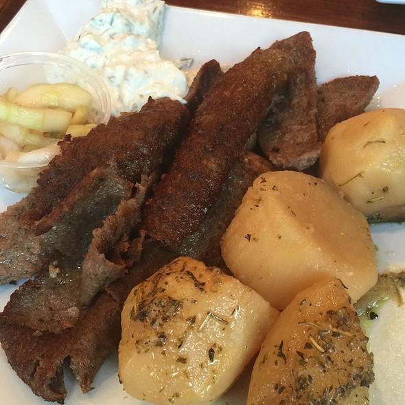 Gyro Platter - Dafni Greek Taverna, New York, NY