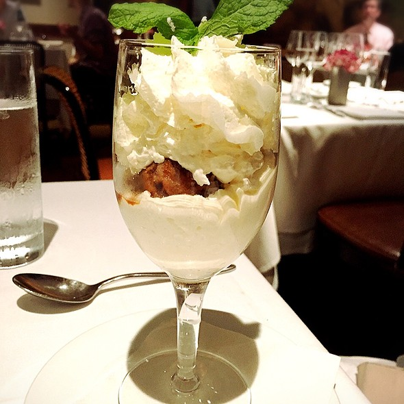 Granita of Neapolitan Coffee - The Leopard at des Artistes, New York, NY